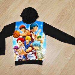 Худи утеплённое Баскетбол Куроко для мальчиков 6 лет 7 лет 8 лет 9 лет 10 лет 11 лет 12 лет 13 лет 14 лет